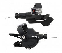 Манетки Sram X4 3*8 Ск. Пара. 09A SL X.4 TRIGGER SET 8SP R INDEX F 00.7015.093.000