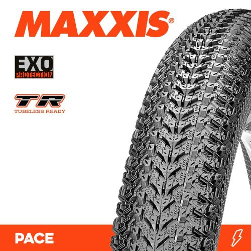 Покрышка Maxxis складная 27.5x2.10 (TB90964100) Pace, EXO/TR, 60TPI, 62a/60a